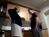 Mother In Law Gets Fucked In Kitchen
