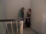 Mature German Housekeeper Fucked On Stairs