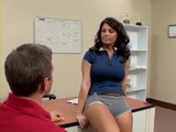 Cougar Milf Sunshine Seiber Fucks Guy at her Office