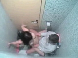 Amateur Teen Caught Fucking In A Toilet