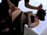Latex Dog Slave Woman Belladonna Rough Anal Fuck