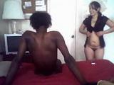 US American Latina Teen Fucks Her Black Classmate Amateur Homemade Interracial Porn