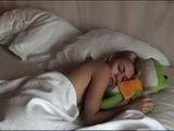 Amateur Beautiful Teen Gets Woken Up From Her Sleep For Some Morning Anal