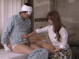 Milf Ryo Hitomi Nurses Injured Guy In Hospital