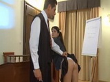 Principal Anal Punish Student Girl in his Office