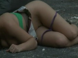 Wasted Drunken Girl Fucked On the Street