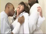 Mature Japanese Doctor Lady Gets Brutally Raped By 2 Black Guys at her Office