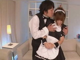 Maid Nene Azami First Day at Work Uncensored