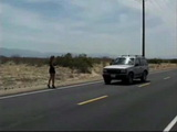 Hitchhiker Girl Gets Gangraped By 3 Guys In the Desert