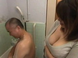 Polite Shy Brother In Law Gets Abused In Bathroom By His Slut Sister In Law An Mitsuki