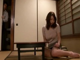 Busty Mom Kitabori Takumi Caught Playing With Her Self Gets Fucked