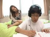 Japanese Teen Fucks Girlfriends Nerd Younger Brother After Her Girlfriend Went Out