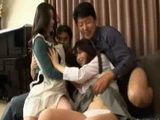 Mother Daughter Son and Father  Japanese Whole Family Incest Video