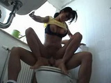 Student Boy Fucked Friends Older Sister in Bathroom