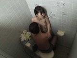 Japanese Girl Quick Fuck In Public Toilette