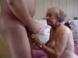 Nude Gray Haired Granny Loves Playing