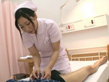 Busty Nurse Momo Shirato Relaxing Her Patient With Boob Massage Till Patient Cums