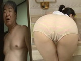 CFNM Maid Helps Pervert Old Boss To Wash His Back And Cock