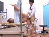 Gymnastic Girl Gets Fucked at Gyno Exam