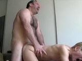 Ugly Fat Guy Moan Loud Of Strong Orgasm While Banging Blonde Whore Pussy