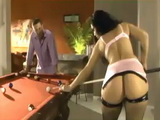 Bubble Butt Milf Gets Hardcore Nailed On Pool Table