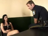 Policeman Blackmail Hooker To Fuck Him Or He Will Put Her Behind Bars