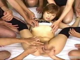 Japanese Babe Groped And Fucked By Group Of Horny Guys Uncensored