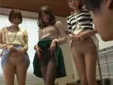 3 Naughty Japanese Girls Fuck One Lucky Teenager