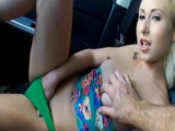 Stacie Andrews banged by nasty stranger in a car