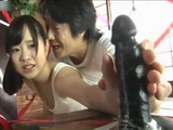 Cute Japanese Teen Daddy and Dildos