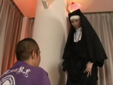 Asian Nun Hard Pussyfucking And Asstoying