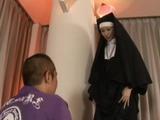 Asian Nun Hard Pussyfucking And Asstoying
