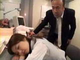 Exhausted Sleeping Secretary Gets Fucked By Her Boss