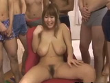 Japanese BBW In A Gang Bang