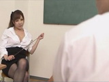 Milf Professor Ran Niiyama Explain To Teenage Boy Much Important Life Lesson Than Schooling