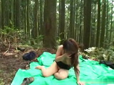 Kidnapped and Blackmailed Japanese Girl Gets Gangraped Deep In The Woods Uncensored