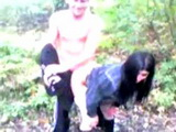 Naive Girl Fucked In The Woods By Bastard