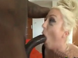 Blonde MILF Wants Big Black Cock
