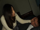Sleeping Son Abused Late at Night By His Stepmom Yuri Honma CFNM