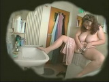 Hidden Cam Catches BBW Mature Shaving and Dildoing Her Pussy In Bathroom