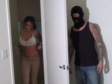 Busty Hot Girl Gets Raped By Masked Burglar At Her Appartment
