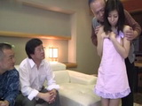 Wife Chihiro Akino Gets Shared With the Friends