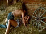 Busty Teen Gets Fucked In the Hay In Stable