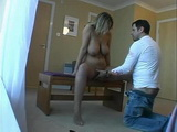 Gorgeous Busty Babe Fucked Hard At Her Apartment