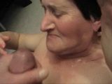 Amateur Granny Dont Like Facial