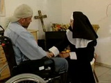 Guy In Wheel Chair Anal Fucks Lustful Nun