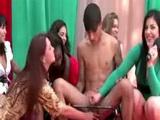Femdom sex swing guys humiliation