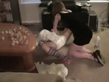 Lucy diaper change