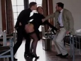 Milf Teacher Sophie Lynx Gets Dped at Girls Dormitory