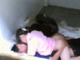 Asian Village Teenagers Caught Fucking in a Shed